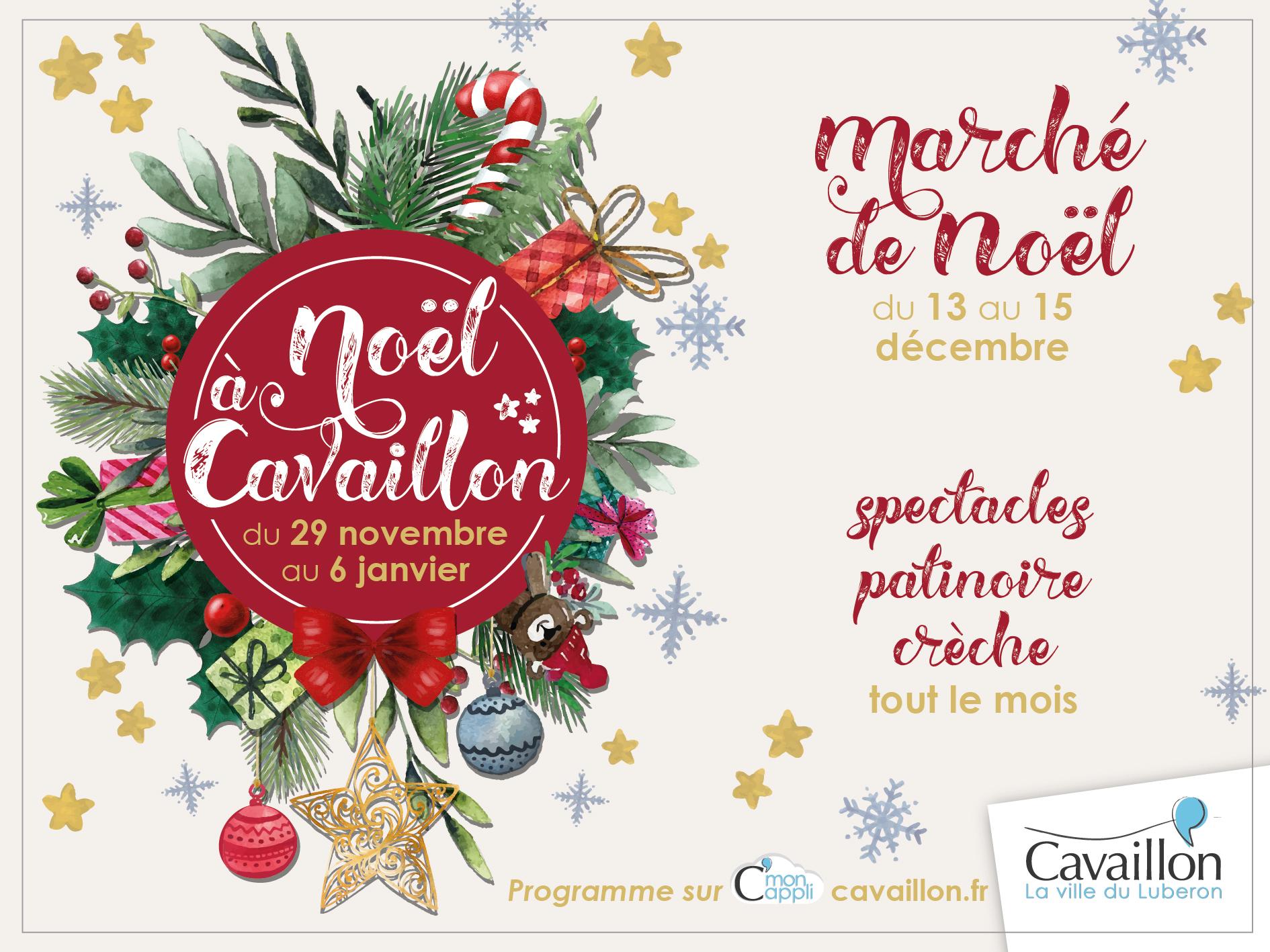 Noël 2019 à Cavaillon 84 - actuprovence agenda